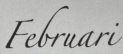 Februari Notulen