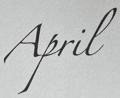 April Notulen