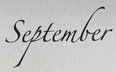 September Notulen