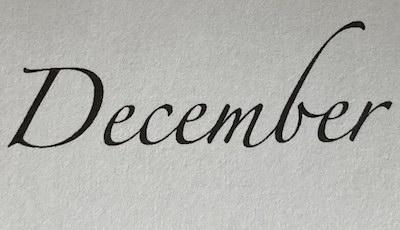 December Notulen